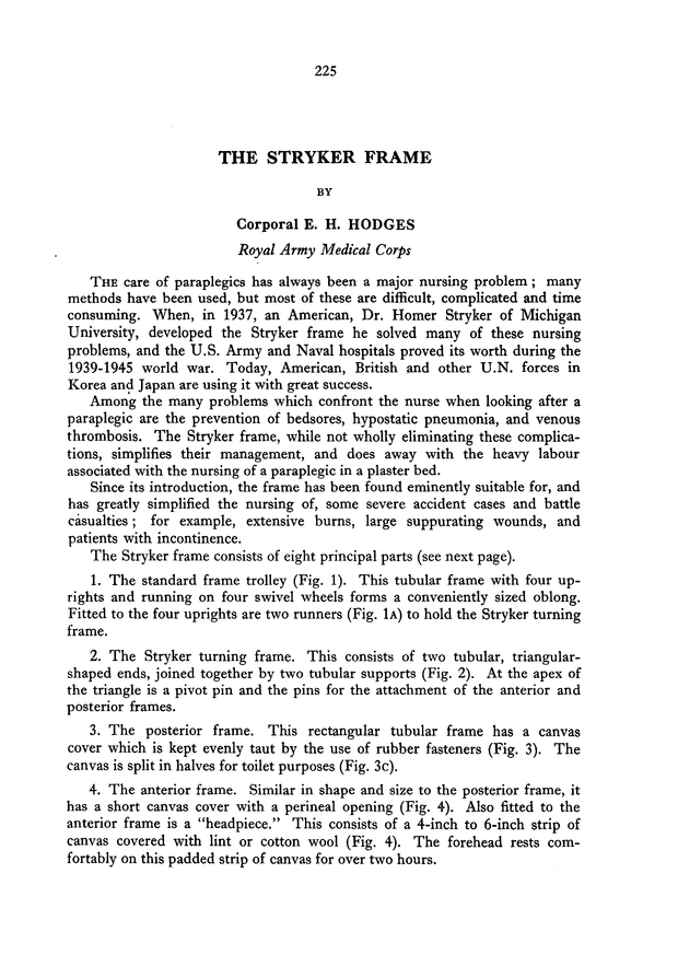 The Stryker Frame | Journal of the Royal Army Medical Corps