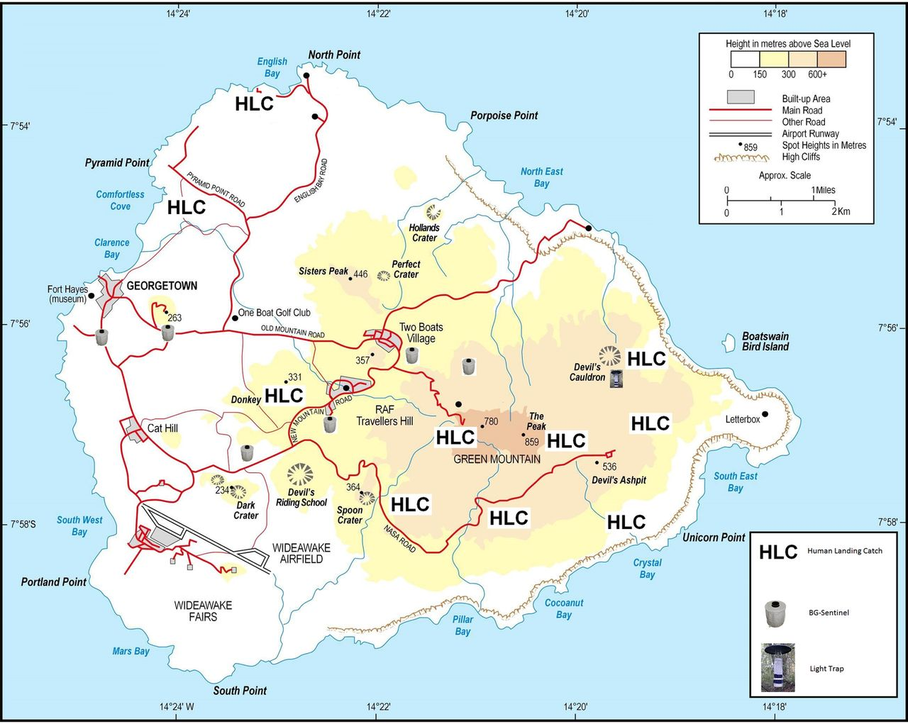 Ascension Island a survey to assess the presence of Zika virus