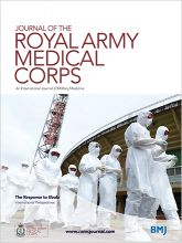 Journal of the Royal Army Medical Corps: 20 (vol index)