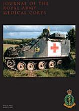Journal of the Royal Army Medical Corps: 151 (1)