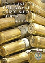 Journal of the Royal Army Medical Corps: 154 (1)