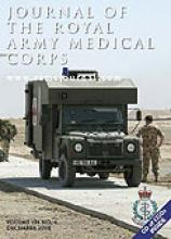 Journal of the Royal Army Medical Corps: 154 (4)