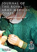 Journal of the Royal Army Medical Corps: 155 (4)