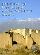 Journal of the Royal Army Medical Corps: 156 (1)