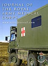 Journal of the Royal Army Medical Corps: 156 (2)