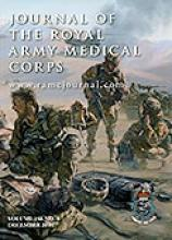 Journal of the Royal Army Medical Corps: 156 (4)