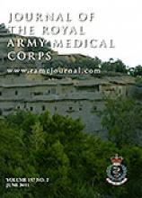 Journal of the Royal Army Medical Corps: 157 (2)