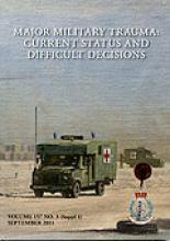 Journal of the Royal Army Medical Corps: 157 (Suppl 3)
