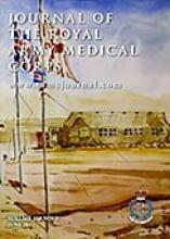 Journal of the Royal Army Medical Corps: 158 (2)