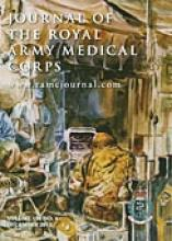Journal of the Royal Army Medical Corps: 158 (4)