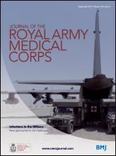Journal of the Royal Army Medical Corps: 159 (3)