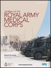 Journal of the Royal Army Medical Corps: 160 (2)