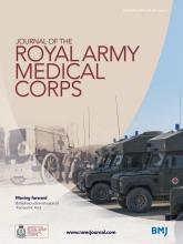 Journal of the Royal Army Medical Corps: 160 (4)