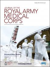 Journal of the Royal Army Medical Corps: 162 (5)