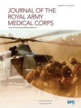 Journal of the Royal Army Medical Corps: 163 (4)